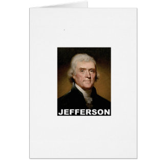 Thomas Jefferson picture Card
