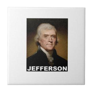Thomas Jefferson picture Ceramic Tiles