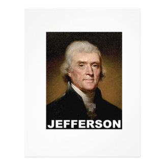 Thomas Jefferson picture Custom Letterhead