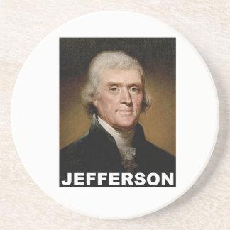 Thomas Jefferson picture Drink Coaster