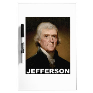 Thomas Jefferson picture Dry Erase Boards