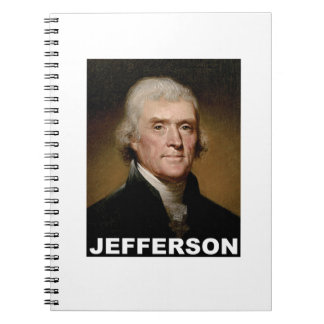 Thomas Jefferson picture Notebook