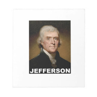 Thomas Jefferson picture Notepads
