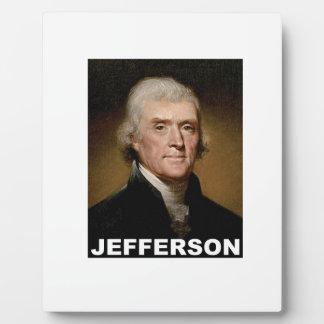 Thomas Jefferson picture Photo Plaque