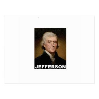 Thomas Jefferson picture Postcard