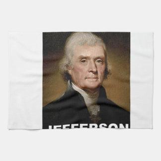 Thomas Jefferson picture Towels