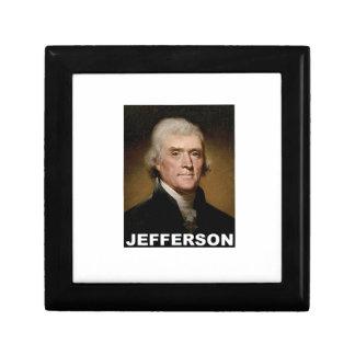 Thomas Jefferson picture Trinket Box