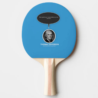 Thomas Jefferson Ping Pong Paddle
