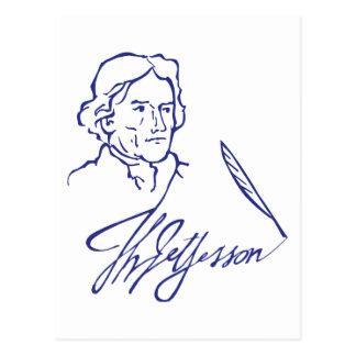 Thomas Jefferson Postcard