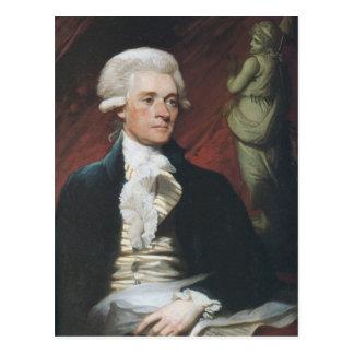 Thomas Jefferson Postcard