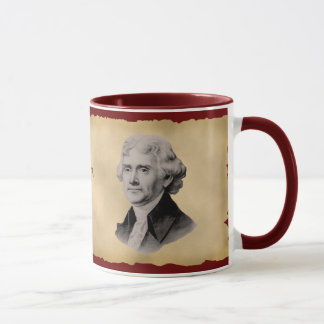 Thomas Jefferson Quote Coffee Mug