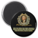 Thomas Jefferson Quote: Government & the People Fridge Magnet