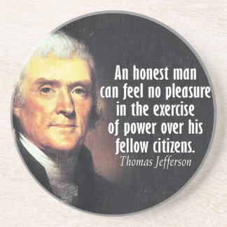 Thomas Jefferson Quote on Power Coaster