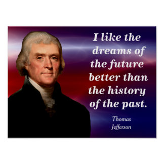 Thomas Jefferson - quote poster
