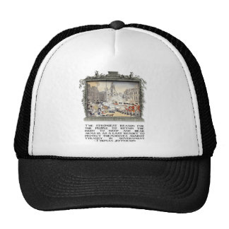 Thomas Jefferson Quote: Tyranny in the Government Trucker Hat
