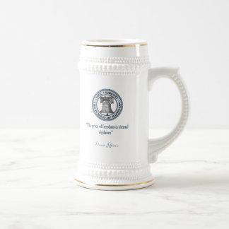 Thomas Jefferson Quote (Vigilance) Coffee Mugs