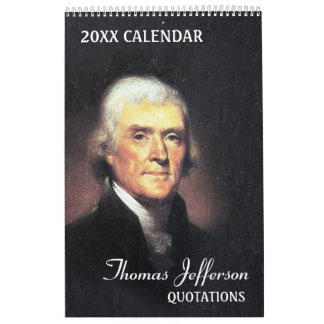 Thomas Jefferson Quotes Wall Calendars