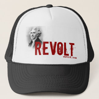 thomas_jefferson, Revolt, wwtrd.com Trucker Hat