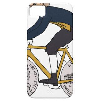 Thomas Jefferson Riding Bike W/ Nickel Wheels iPhone 5 Cases