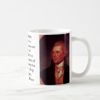 thomas Jefferson, thomas Jefferson, I predict f... Basic White Mug