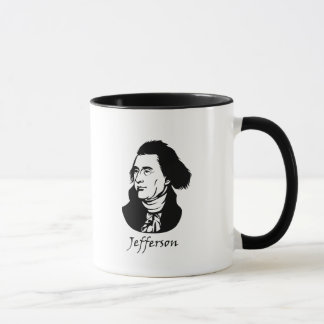 Thomas Jefferson - Vive La Revolution Mug