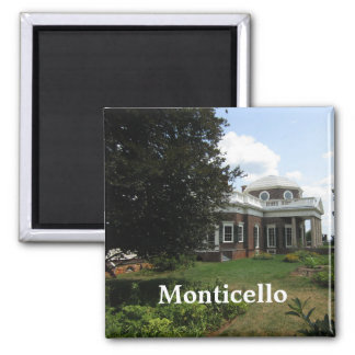 Thomas Jefferson's home: Monticello Square Magnet