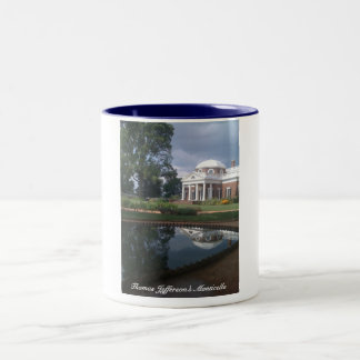 Thomas Jefferson's Monticello Two-Tone Coffee Mug
