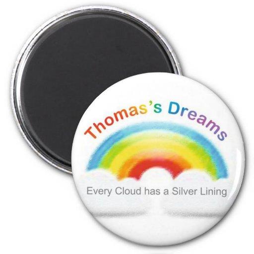 thomas logo fridge magnets