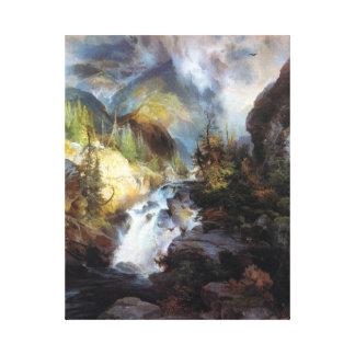 Thomas Moran Children of the Mountain Canvas Print