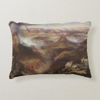 Thomas Moran - Grand Canyon of the Colorado River Accent Pillow