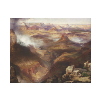 Thomas Moran - Grand Canyon of the Colorado River Canvas Print
