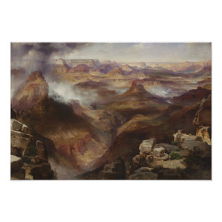 Thomas Moran - Grand Canyon of the Colorado River Poster