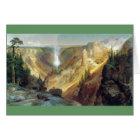 Thomas Moran - Grand Canyon of the Yellowstone Card