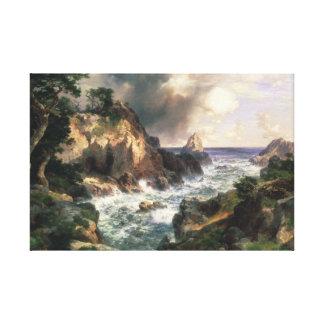 Thomas Moran - Point Lobos, Monterey, California Canvas Print