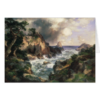 Thomas Moran - Point Lobos, Monterey, California Card