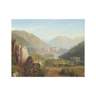 Thomas Moran - The Juniata, Evening Canvas Print