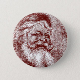 Thomas Nast Santa Claus 2 Inch Round Button