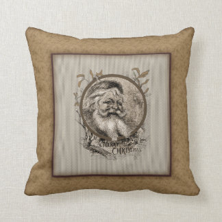 Thomas Nast Santa Claus Christmas Pillow