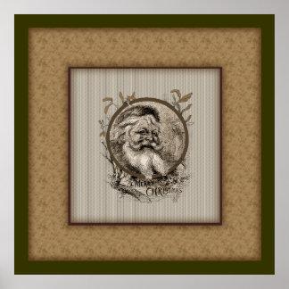 Thomas Nast Santa Claus Christmas poster