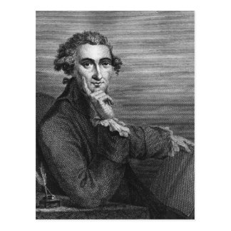 Thomas Paine, engraved by William Angus, 1791 Postcard
