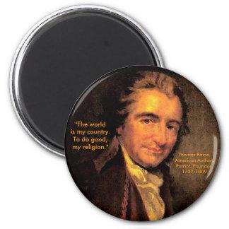 Thomas Paine - 2 Inch Round Magnet