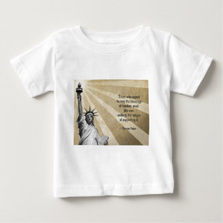 Thomas Paine Quote Baby T-Shirt