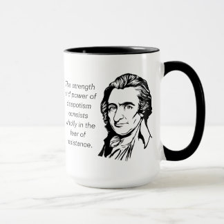 Thomas Paine Quote Mug