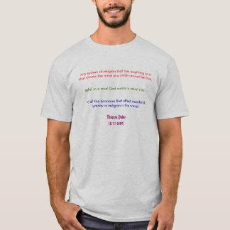 Thomas Payne on Religion T-Shirt