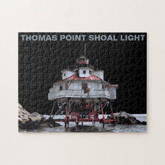 THOMAS POINT LIGHT JIGSAW PUZZLE