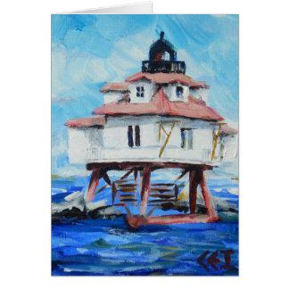 Thomas Point Lighthouse Card