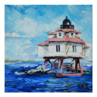 Thomas Point Lighthouse poster Perfect Poster