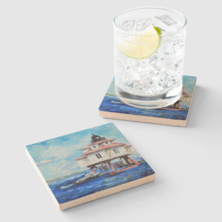 Thomas Point Lighthouse Stone Coaster