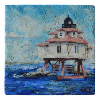 Thomas Point Lighthouse trivet