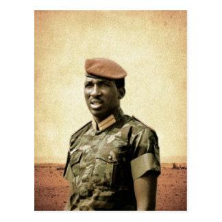 Thomas Sankara - Burkina Faso - African President Postcard